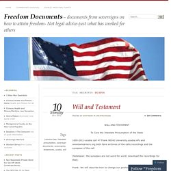 Freedom Documents