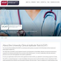 UCAT Consortium