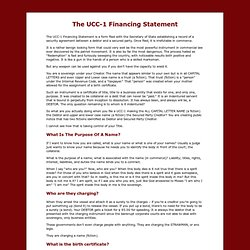 UCC-1 Financing Statement
