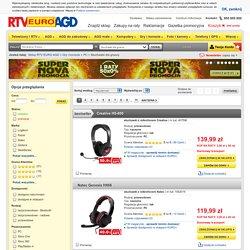 Słuchawki z mikrofonem - Ceny, Opinie w Sklepie RTV EURO AGD