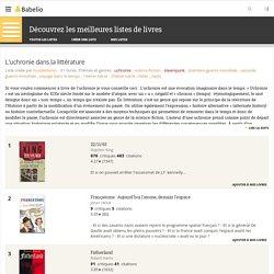 L'uchronie dans la littérature - Liste de 31 livres