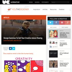 UCreative.com - Design Exercises To Get Your Creative Juices Flowing
