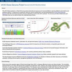 UCSC Ebola Portal