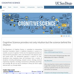 UCSD Cognitive Science - Home