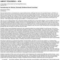 Spr. '96 About Teaching