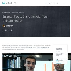 Make Udacity Courses Stand Out with LinkedIn