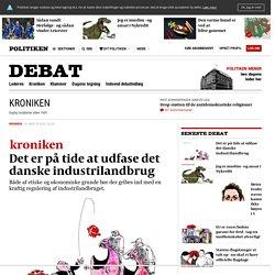 Det er på tide at udfase det danske industrilandbrug