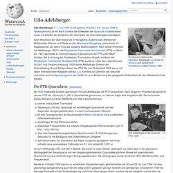 Udo Adelsberger