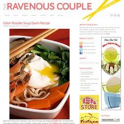 Udon Noodle Soup Dashi Recipe