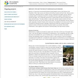 www.uef.fi - FISH, FISH OILS AND MERCURY