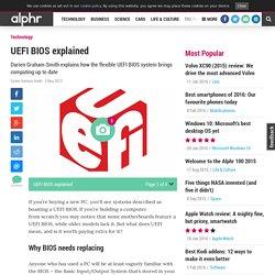 UEFI BIOS explained