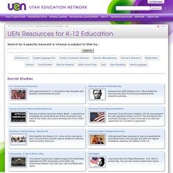 UEN Resources for K-12 Education
