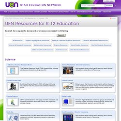 Resources for K-12 Education