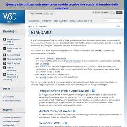 Ufficio Italiano W3C - Standard