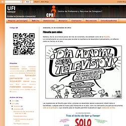 UFI CALATAYUD: Filosofía para niños