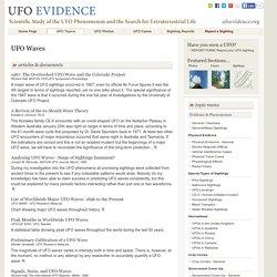 UFO Waves