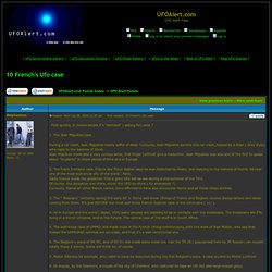 View topic - 10 French's Ufo case