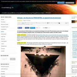 Ufologie : les Secrets du TR3B ASTRA, un appareil secret americain