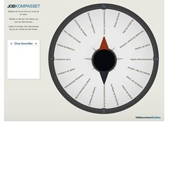 Ug.dk - Jobkompasset