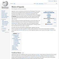 Music of Uganda