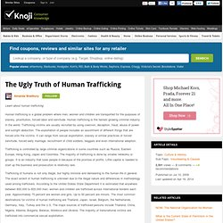 The ugly truth of human trafficking