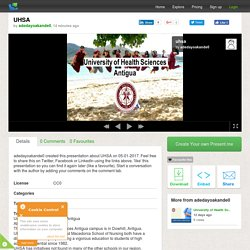 UHSA - University of Health Sciences Antigua