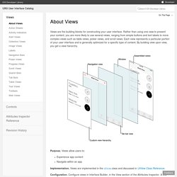 UIKit User Interface Catalog: About Views