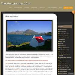 Uist and Barra « The Western Isles