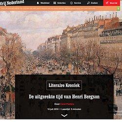 De uitgerekte tijd van Henri Bergson