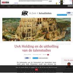 UvA Holding en de uitholling van de talenstudies