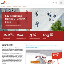 UK Economic Outlook