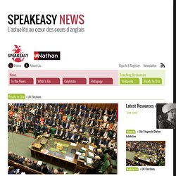 UK Elections – Speakeasy News