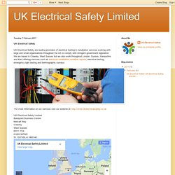 UK Electrical Safety Limited