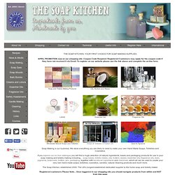 Soap Kitchen. Home