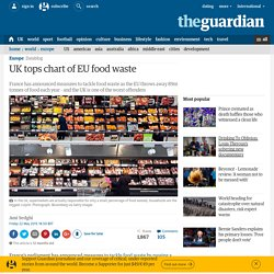 UK tops chart of EU food waste