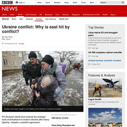 Ukraine conflict: Why is violence surging?