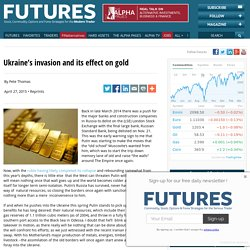 Ukraine's invasion and its effect on gold