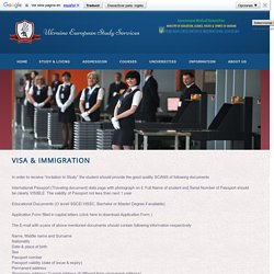 Ukraine Student Visa Process