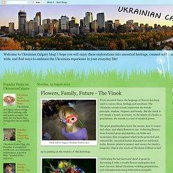 Flowers, Family, Future - The Vinok