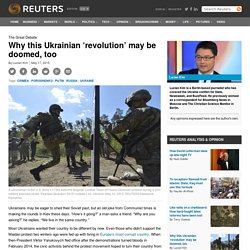 Why this Ukrainian 'revolution' may be doomed, too