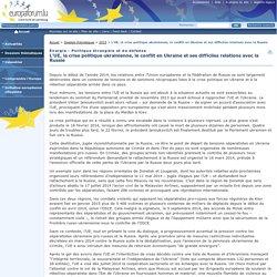 L'UE, la crise politique ukrainienne, le conflit en Ukraine et ses difficiles relations avec la Russie - Europaforum Luxembourg - 2015