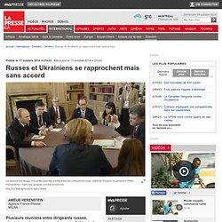 Russes et Ukrainiens se rapprochent mais sans accord