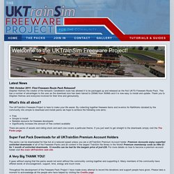 UKTrainSim Freeware Project: Home