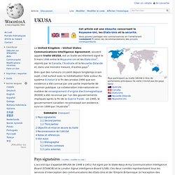 5 mars 1946 Traité UKUSA