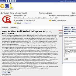 Dr.Ulhas Patil Medical College and Hospital