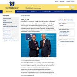 Istanbulin sopimus tulee Suomen osalta voimaan - Ulkoasiainministeriö: Ajankohtaista