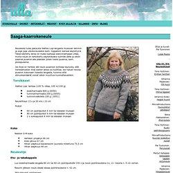 Ulla 01/04 - Neuleohjeet - Raglan