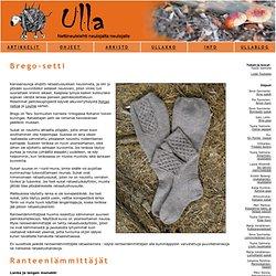 Ulla 03/07 - Ohjeet - Brego
