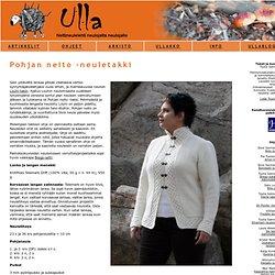 Ulla 03/07 - Ohjeet - Pohjan neito