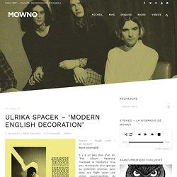 Ulrika Spacek - 'Modern English Decoration'